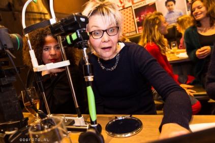 Expositie oogfoto wateringhole amsterdam 'Wauw' is de meest gehoorde reactie.