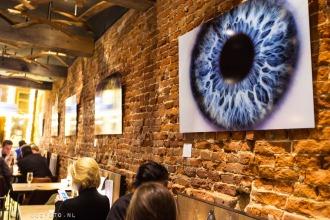Expositie oogfoto wateringhole amsterdam